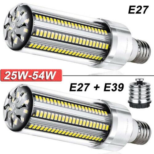 E26 E27 E39 Leuchtmittel LED Birne SMD Lampe Warmweiß Licht 25W-54W Super hell