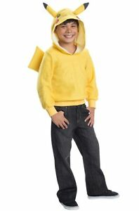 Pokemon-Pikachu-Hoodie-Child-Halloween-Costume-Pokemon-Go-Pikachu-FREE-SHIPPING