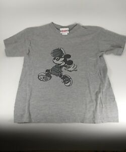 039-80s-Disneyland-Grey-Mickey-Mouse-Basketball-T-Shirt-Size-Youth-XL-14-16-Vintage