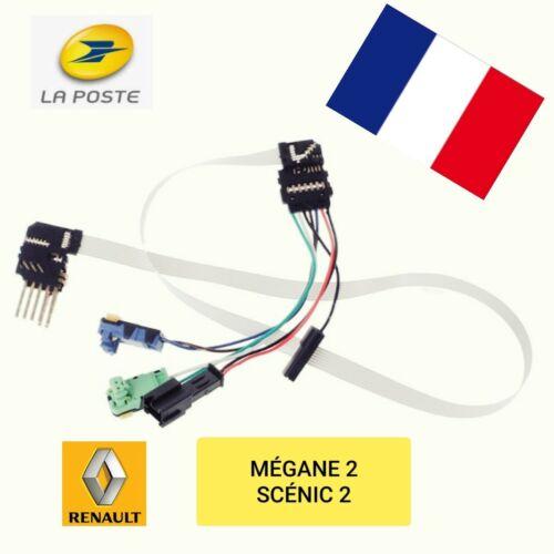 Câble 7pins avec connecteurs contacteur tournant airbag Renault MEGANE2 SCENIC