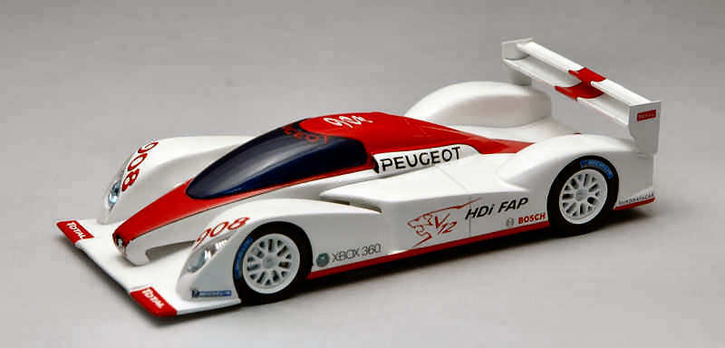 PEUGEOT 908 Concept SALON DE PARIS 1:43 MODEL s1270 SPARK MODEL
