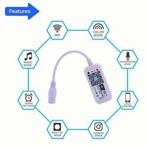 LED-WiFi-Controller-Smart-Voice-Controller-Remote-RGB-RGBW-For-Strip-Li-JT