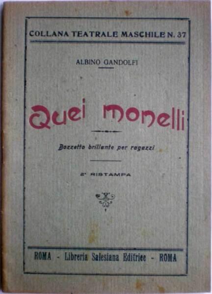 1947 Plegable Teatro Esos Malhotra Albino Gabriel - Biblioteca Salesiano Roma 2019 úLtimo Estilo De Venta En LíNea 50%