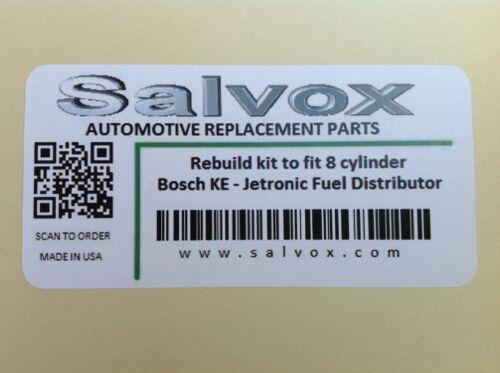 Bosch Fuel Distributor Rebuild kit for Mercedes 420 500 560 SL SE 0438101018