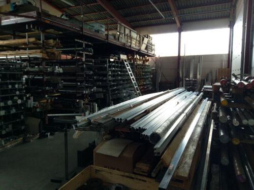 Aluminio plana Kant tubo-ALU-rectángulo-tubo 20 x 10 x 2 mm