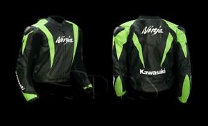 Kawasaki Ninja Motorbike Leather Jacket