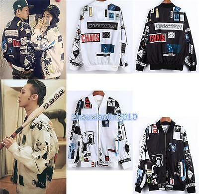 BIGBANG GD Sweater G-dragon Harajuku Unisex Space Great KPOP Baseball Jacket