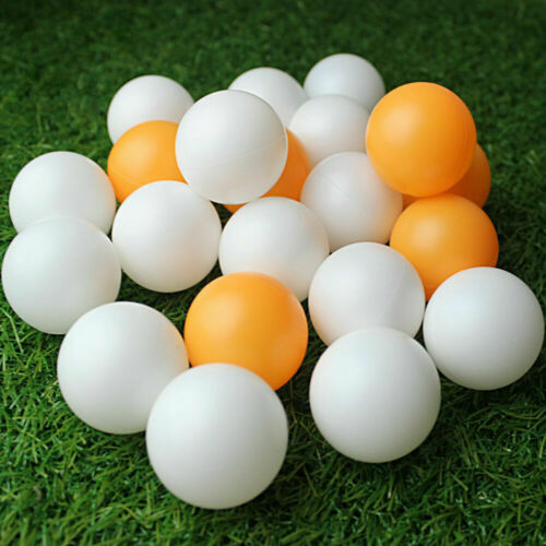 12x Table tennis ball 40 mm diameter 12 pcs white and orange 6 Each