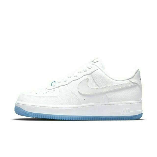 Size 7 - Nike Air Force 1 Low UV Reactive Swoosh for sale online ...