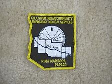 GILA RIVER INDIAN COMMUNITY EMERGENCY MEDICAL SERVICES PIMA MARICOPA PATCH---008