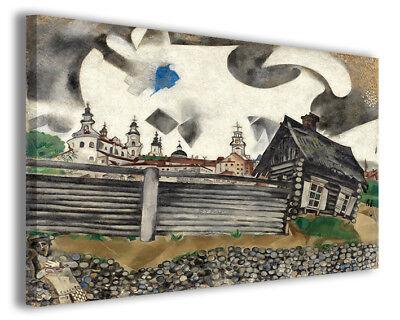 Quadri famosi moderni Marc Chagall vol IV stampa su tela canvas arredo  poster | eBay