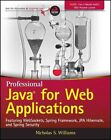 Professional Java for Web Applications: Featuring Websockets, Spring Framework, JPA Hibernate, and Spring Security by Nicholas S. Williams (Paperback, 2014)