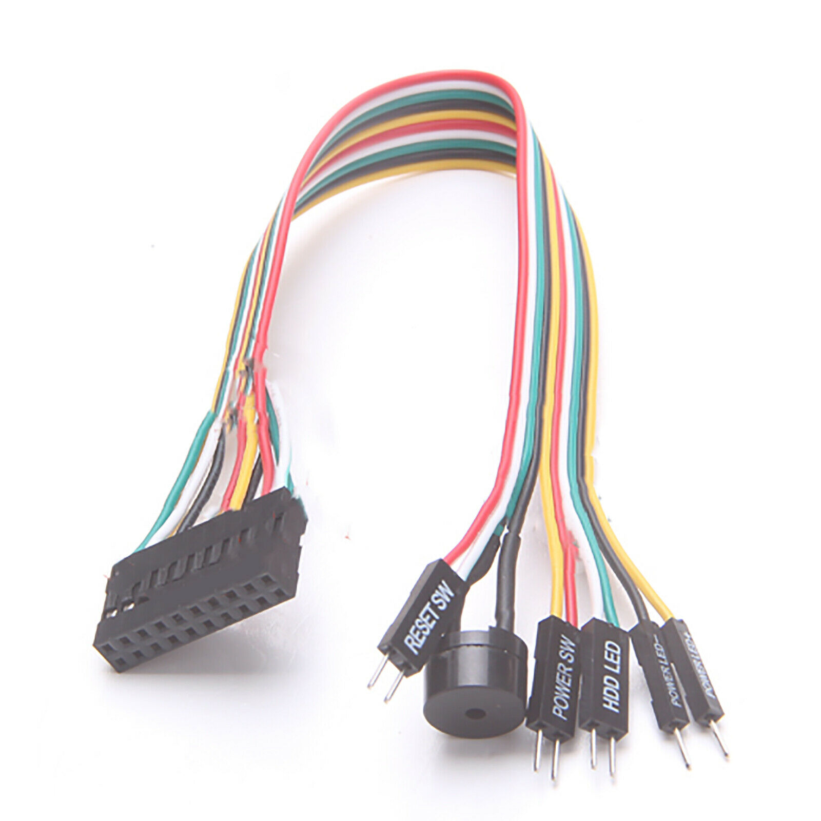 20cm Jumper Line Extension Cable Cord Connector For ASUS Q-Connector Motherboard