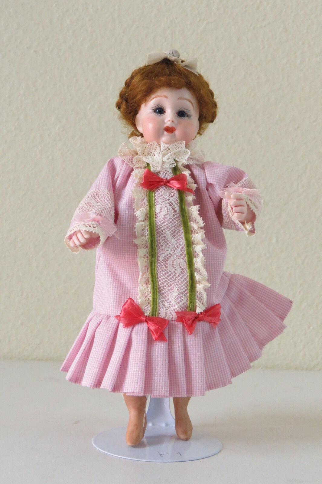 Doll Miniatura Muñeca Repro  P1    Kestner 22 cm