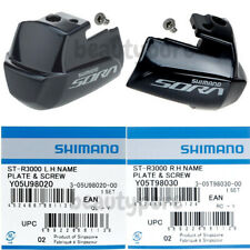 Shimano St-3400 Name Plate /& Fixing Screw R.H And L.H Are Common Y6LS98030