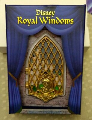 2017 Disney D23 Expo WDI Princess Aurora Sleeping Beauty Window Pin LE 300