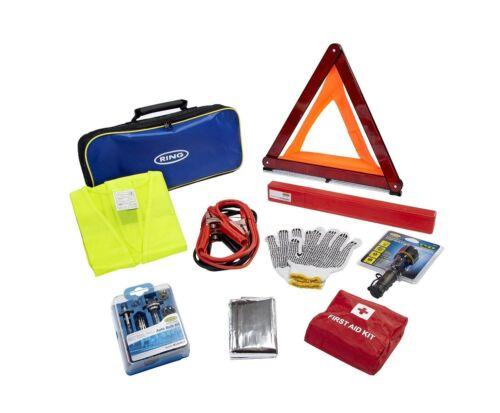 Ring Automotive Emergency Travel Kit Roadside Car First Aid Triangle Breakdown