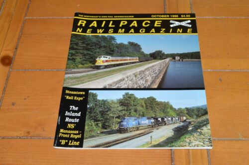 RR Train Railpace Newsmagazine 1998 October Steamtown NS B Line VA Elgin County