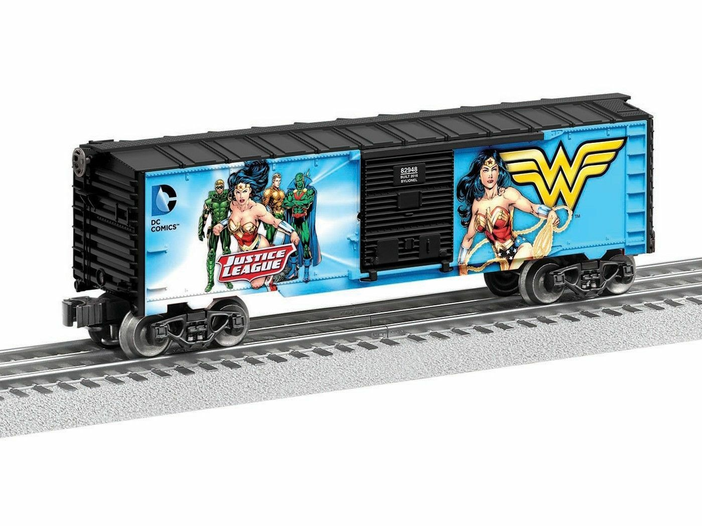 Lionel 6-82948 Justice League Wonder Woman Box Car O Gauge Model Trains