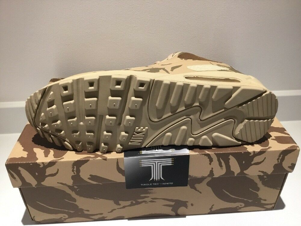 Nike Air Max 90 UK 624727 SP Camo Collection ~ 624727 UK 220 ~ Taille UK 12 f8056f