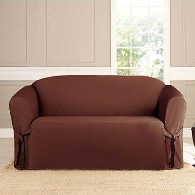 Microsuede Furniture Slipcover Sofa 74