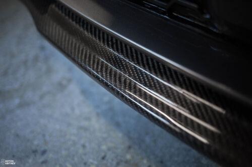 CARBON M Sport spoiler lip Valance skirt Chin Apron Eleron Diffuser Splitter DTM