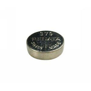 #379 (SR521SW) Renata Mercury Free Watch Batteries - Strip of 10