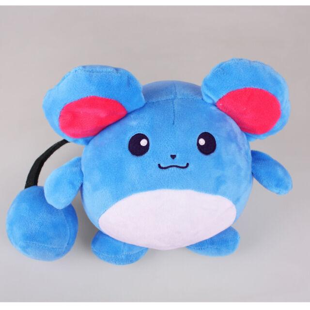 "Pokemon Marill Plush Soft Toy 4/"" Game Figure Stuffed Animal Doll Cute Gift"