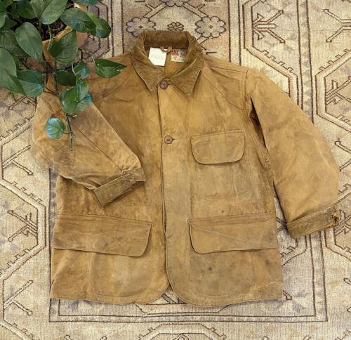 Men's 1940s Wax Cotton Duxbak Coat