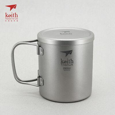 15.2 fl oz Keith Titanium Ti3204 Single-Wall Mug Shipped from USA