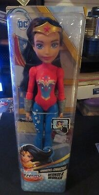 BRAND NEW NRFB Wonder Woman DC Comics Super Hero Girl 12 inch Action Figure Doll