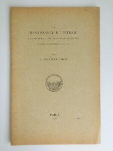 La Renacimiento de Ventana Manufactura Nacional Sèvres Perrault Dabot 1933