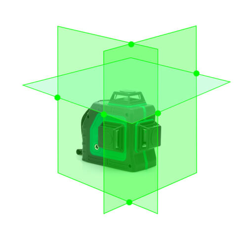New LND  3d Self Leveling Green Laser Level 360 Degree 12 Lines