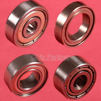 5PCS Metal Double Shielded Ball Bearing 3x9x4/5x8x2mm MR93ZZ R188ZZ MR85ZZ 635ZZ