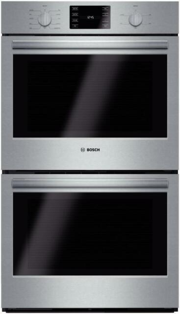 gas double wall oven 30 inch maytag bosch hbl5651uc 30 inch double wall oven european convection stainless steel