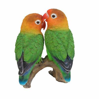 Balancing Love Birds Moving Garden Ornament Lovebirds Gardening Lovers Gift