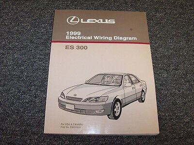 1999 Lexus ES300 Sedan Factory Original Electrical Wiring ...
