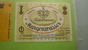 OLD-EAST-GERMAN-SOFT-DRINK-CORDIAL-LABEL-MARGON-TABLE-WATER