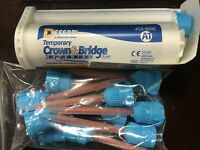 Temporary Crown And Bridge Material With 10 Mixing Tips Shade A1
