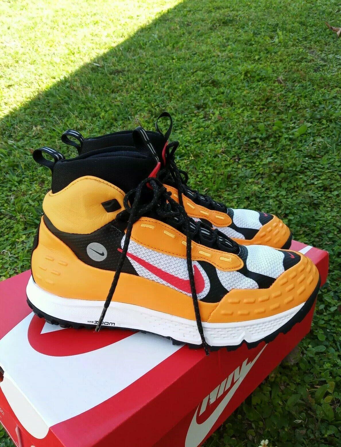 9 uomo Nike Air Zoom Terra Sertig Sertig Sertig 16 Hiking scarpe Taxi rosso 904335 700 giallo f705d7