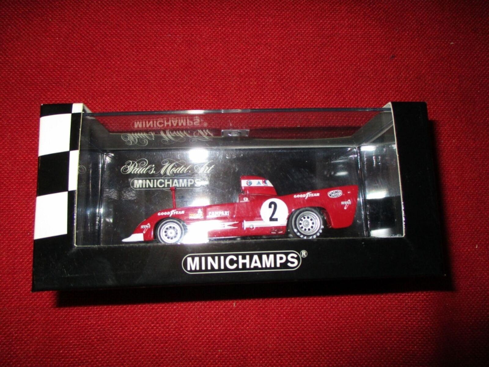 MINICHAMPS ® 400 751202 1 43 ALFA ROMEO 33 TT 12 Pescarolo Bell Team WKRT NEUF