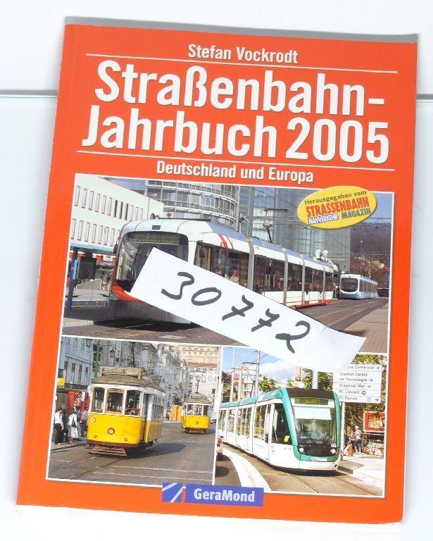Livre Straßenbahn-jahrbuch 2005 Allemagne et Europe