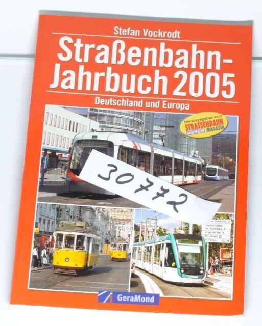 Book Straßenbahn-jahrbuch 2005 Germany and Europa