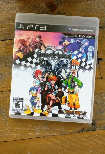 LIKE NEW - Kingdom Hearts HD 1.5 Remix - Playstation 3 PS3 Game - MINT Complete