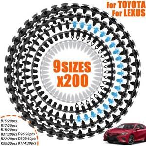 Bodywork Fastener Grommet Toyota Lexus 5x Wheel Arch Liner Clip Moulding Clip