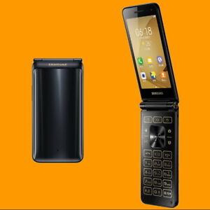 Samsung-Galaxy-Folder2-SM-G1650-Black-8MP-AF-Dual-SIM-4G-Android-Flip-Smartphone