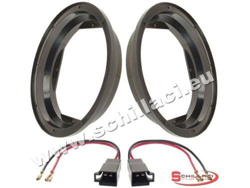 Adattatori altoparlanti Casse 200 mm connettori  per Seat Leon 1M anteriori po