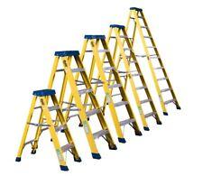 Electricians Heavy Duty Tread EN131 Fibreglass Fibre Glass Step Ladder 30000v