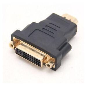 Mini-DVI-Female-to-HDMI-19-Pin-male-Connector-Adapter