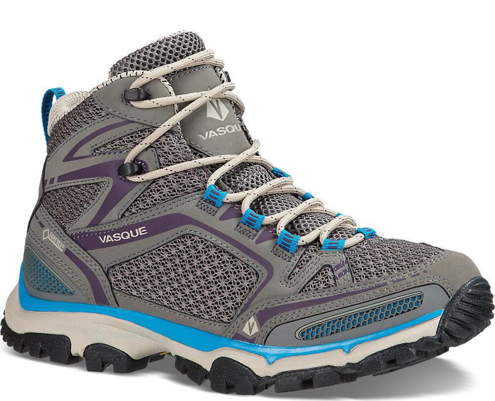V9 Demo Vasque Inhaler II Mid GTX Hiking Trail Boot Women 11 Moon Mist   Plum